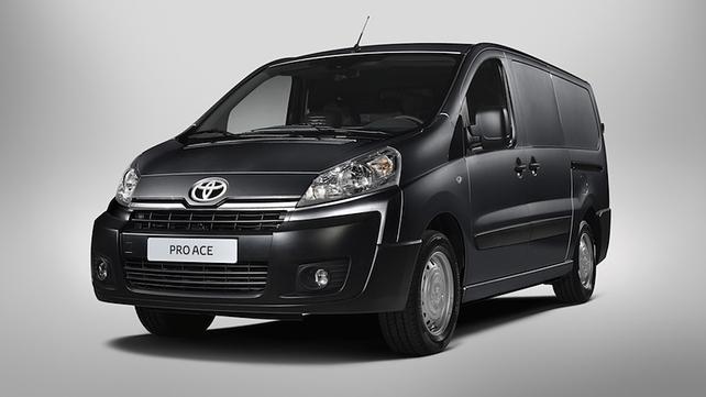 New Toyota van