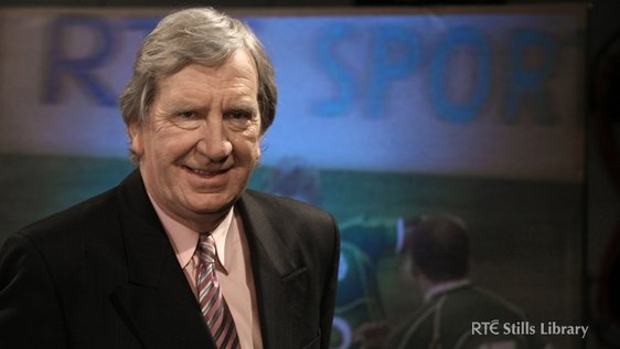 Tom McGurk at launch of RTÉ Sport's Six Nations coverage (2010). 3039/029