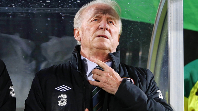 Giovanni Trapattoni cancelled today's post-match press conference due to an illness in his family