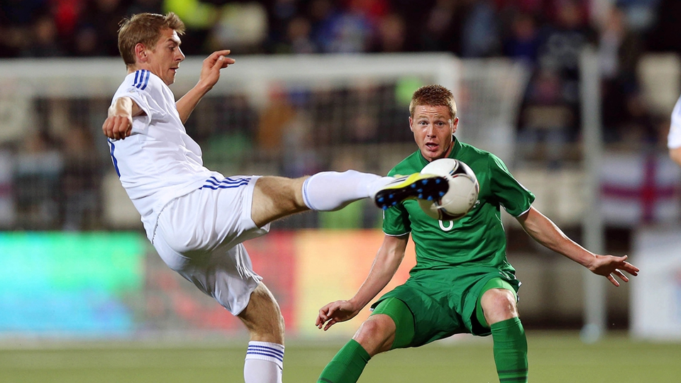 James McCarthy was awarded man of the match by Ronnie Whelan