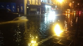Lavitt's Quay in Cork was impassable for a time