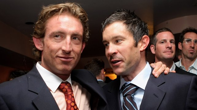 Matt White (left) has been sacked by Cycling Australia as a result of doping during his time with the US Postal team