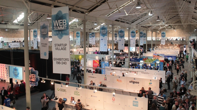 250 exhibitors were at the two-day summit in the RDS