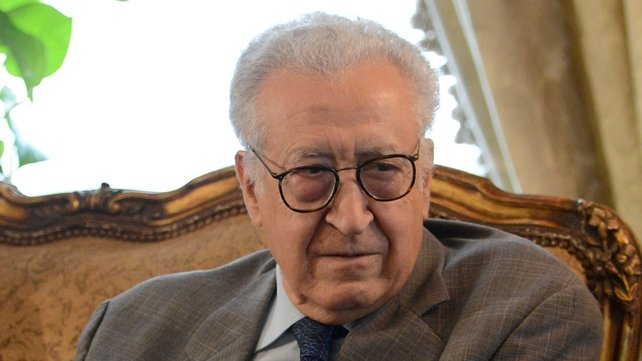 Lakhdar Brahimi said the Syrian government had agreed to a ceasefire during Eid al-Adha