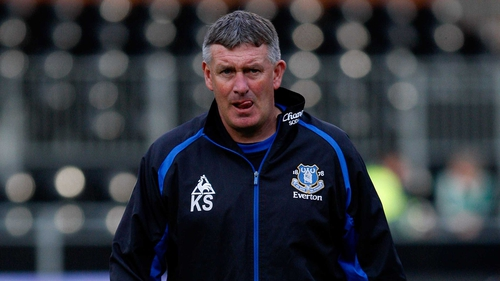 Kevin Sheedy has returned to work with Everton