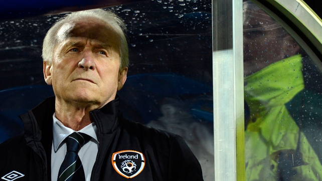 Giovanni Trapattoni's position had been under serious pressure throughout the last week