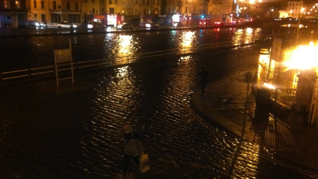 Fr Mathew Quay was one of the streets that flooded