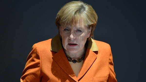 Angela Merkel has called for EU intervention rights on budgets