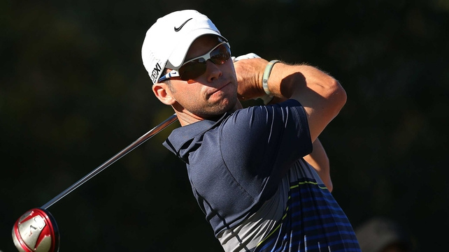 Paul Casey is two shots off Michael Hendry and Alejandro Canizares.