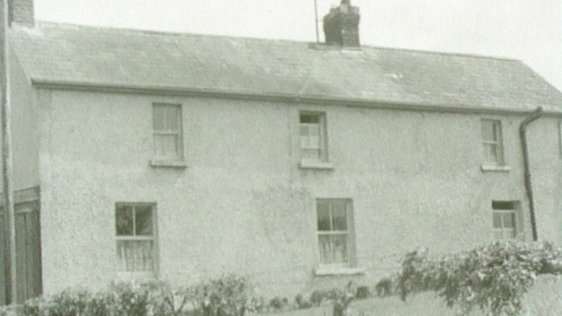 The house in which Patrick Kavanagh was born on 21 October 1904.