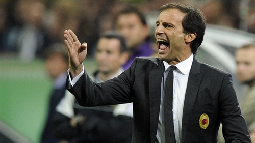 Allegri takes his side to face Lazio in Rome on Saturday