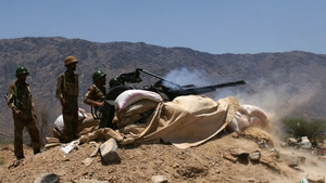 At least a dozen other Yemeni soldiers were injured during the attack