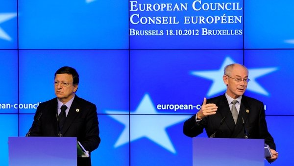 Herman Van Rompuy said that the criteria for banks to receive the aid will be finalised by finance ministers