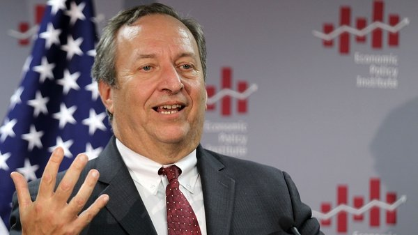 Larry Summers is a former US Treasury Secretary and World Bank Chief Economist