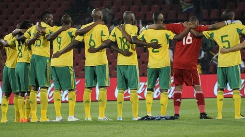 The SAFA president said: 'We are shocked and at a loss for words and as we speak'