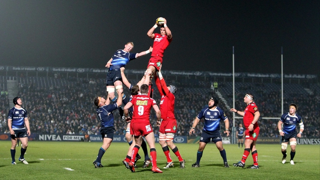 Leinster face a tough task away to Llanelli