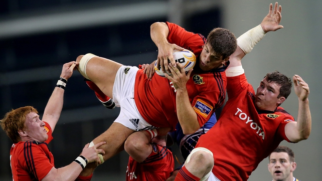 Donncha O'Callaghan returns to partner  Paul O'Connell in the second row