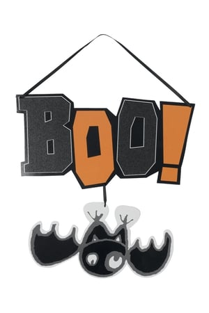 Marks and Spencer spooky door sign, €3.50. Select Halloween items included in 3 for 2 promotion online