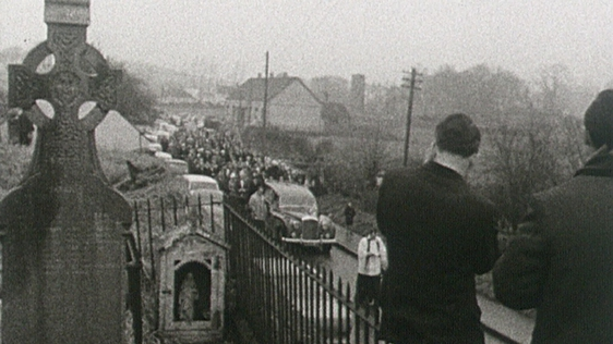 Funeral of Patrick Kavanagh