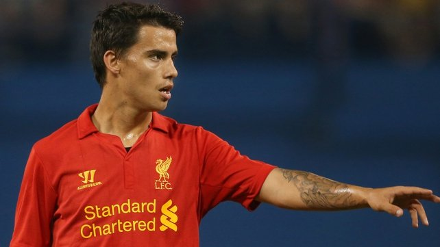 Suso is sticking with Liverpool
