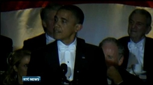 Obama and Romney attend charity event