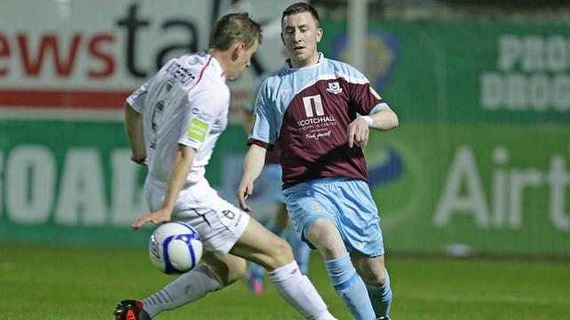 Drogheda beat Sligo 2-1 at Hunky Dorys Park