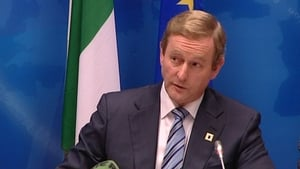 Enda Kenny will brief the meeting on developments at the European Council