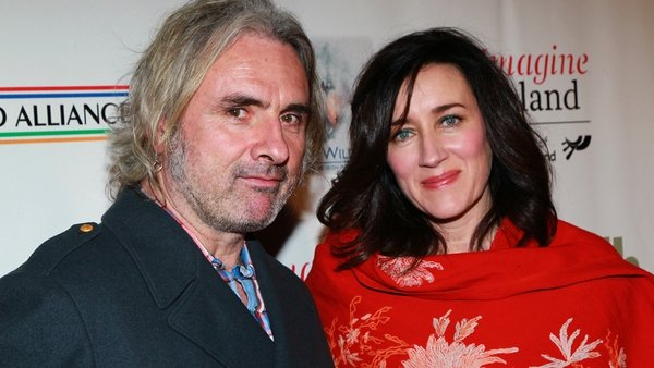 Kieran Kennedy pictured with his wife, Maria Doyle Kennedy