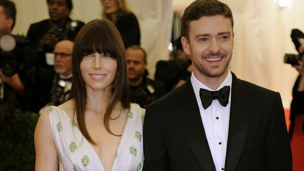 Timberlake sang Biel down the aisle