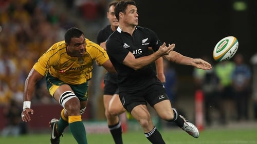 Dan Carter was unable to nail a drop goal to give New Zealand victory