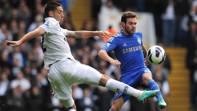 Juan Mata scored two for Chelsea as they earned bragging rights in the north-south London derby