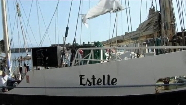 The SV Estelle was attempting to break Israel's naval blockage of Gaza