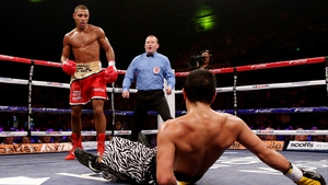 Kell Brook, now undefeated in 29 fights, finishes off his rival