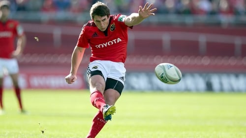 Ian Keatley returns to his preferred position for Sunday's clash