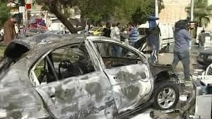 Dozens were injured in car bomb explosion