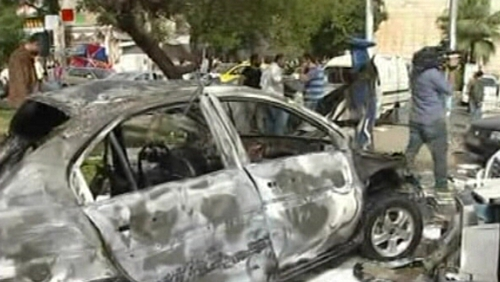 Dozens were injured in car bomb explosion