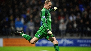 Chris Kirkland was hit by a fan while his side were playing Leeds