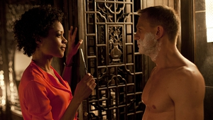 Harris starred as Moneypenny in Skyfall and SPECTRE