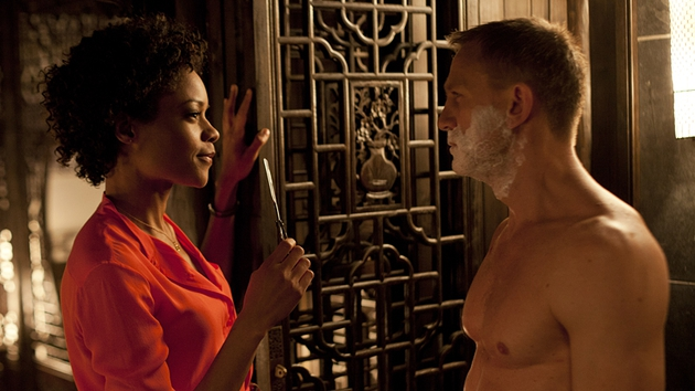 The potential to develop Naomie Harris' character Eve is immense