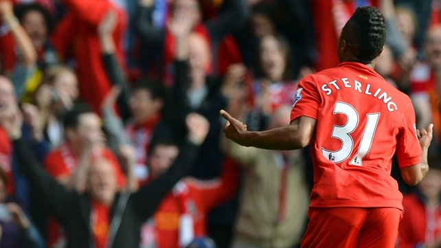 Raheem Sterling scored the goal that gave Liverpool three points against Reading