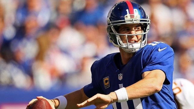 Eli Manning and Victor Cruz put together a 77-yard touchdown for New York Giants