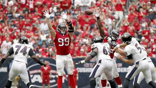 Houston Texans defeat Baltimore 43-13