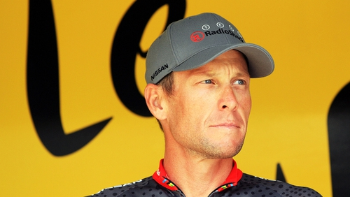 Those given the ban were Lance Armstrong's former team manager, doctor and trainer, respectively