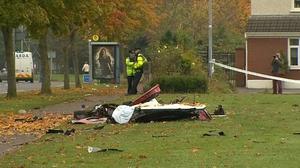 Two men were killed in a crash in Hartstown in Dublin