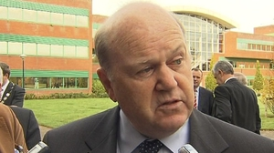 Michael Noonan said: 'Because a deal is likely, (the Government) is unlikely to pay'