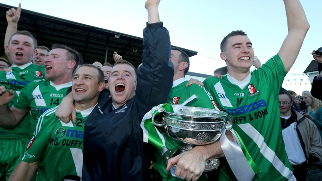 Sarsfields were crowned Kildare champions after a 2-11 to 0-11 win over Carbury