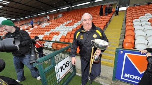 Joe Kernan managed Ulster to victory in the 2012 interpro football decider