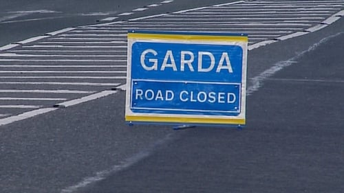 Gardaí have closed a part of the N5 and diversions are in place