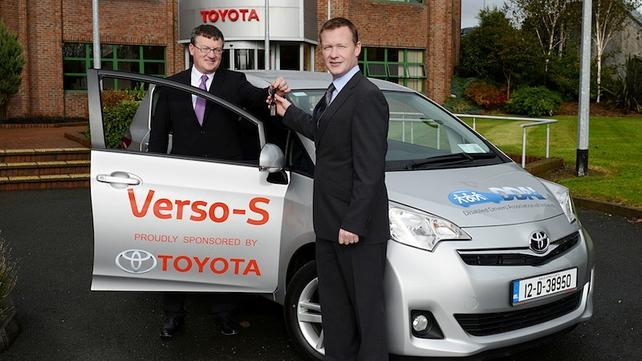 Toyota Ireland - Disabled Drivers Association of Ireland
