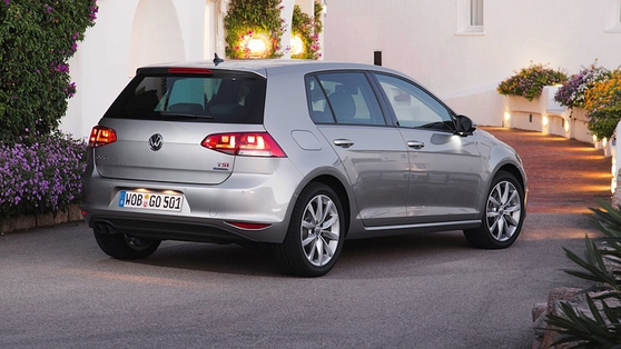 Golf 7's body is built on the latest VW modular platform